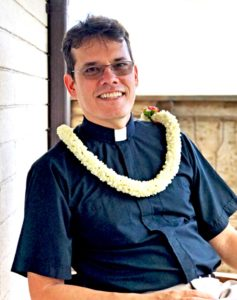 photo: Fr. Moki Hino, canon priest in charge, The Cathedral of St. Andrew (Honolulu, HI)