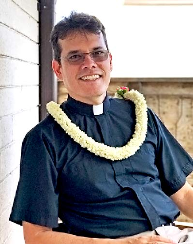 photo: Fr. Moki Hino, The Cathedral of St. Andrew (Honolulu, Hawaii)