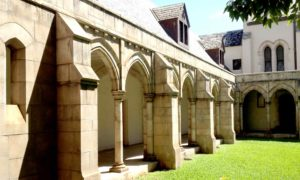 photo: the Cathedral architecture is remarkable, thanks to Hawaiian royalty in the 1800s.