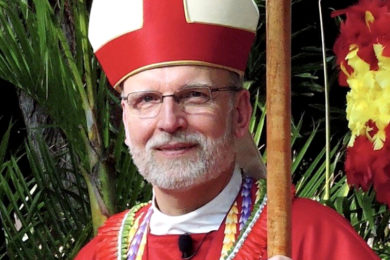 photo: The Right Reverend Robert L. Fitzpatrick Bishop of Hawaiʻi (2016)