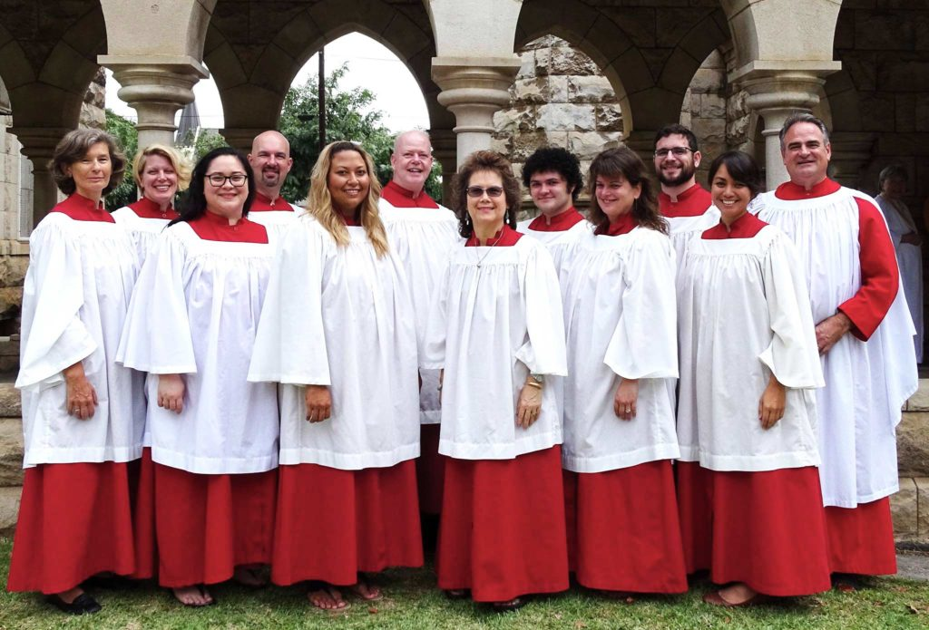 photo: The Cathedral Choir, Easter 2017