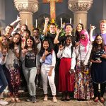 Fr. Moki hosts students from the International Hospitality Center