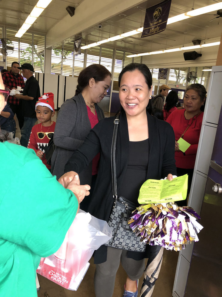 Cathedral Of Saint Andrew, December 2019, Calendar, Kalihi Waena School meat give away 2018   The Cathedral of St. Andrew