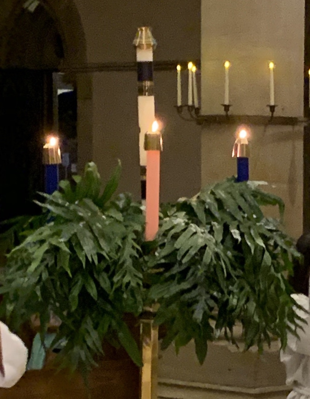 Advent wreath 2018